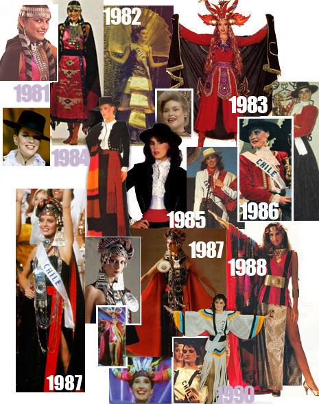 cde37a06df4d FOTOS: Revisa los trajes típicos de las representantes chilenas en ...